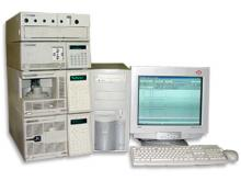 Hewlett-Packard / Agilent 1050 UV HPLC System